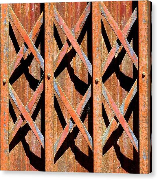 Travel Canvas Print - Xlxlx #thailand #travel #gate by A Rey