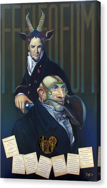 Yaks Canvas Print - Yak Andrew Bienstjalk by Patrick Anthony Pierson
