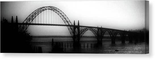 Yaquina Bay Canvas Print