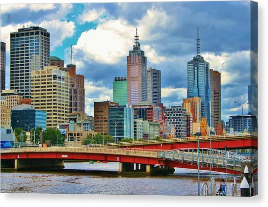 Yarra River City View Canvas Print