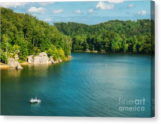 Yatesville Lake Canvas Print