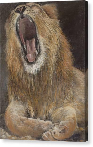 Canvas Print - Yawn by Susan Driver