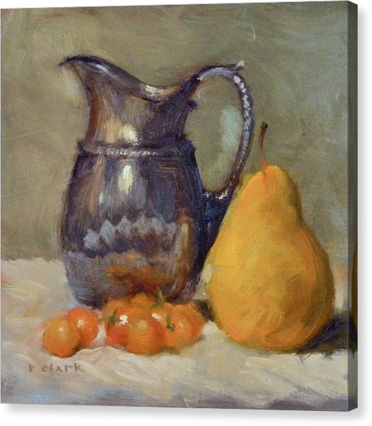 Yellow And Orange Canvas Print by Roger Clark