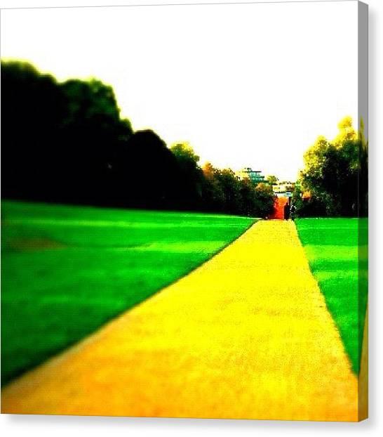 Presents Canvas Print - Yellow Brick Road by Book Walk