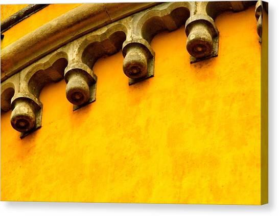 Yellow Castle Canvas Print