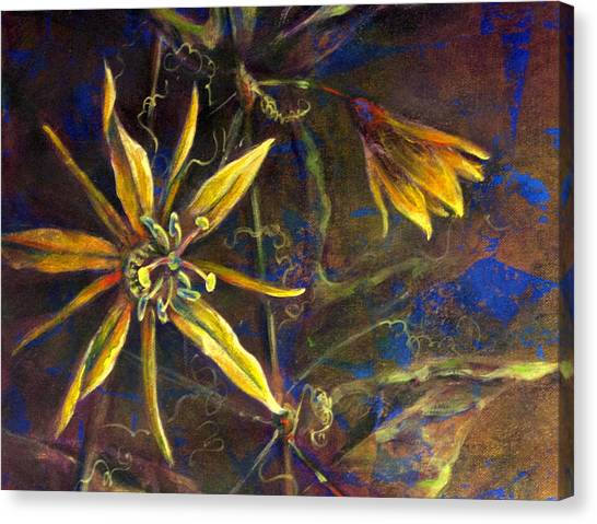Yellow Passion Canvas Print