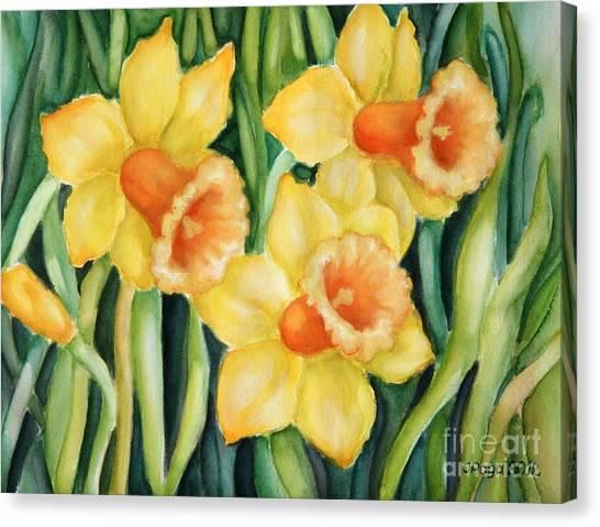 Yellow Pleasure Canvas Print