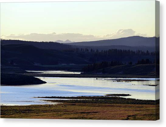 Yellowstone Landscapes Canvas Print