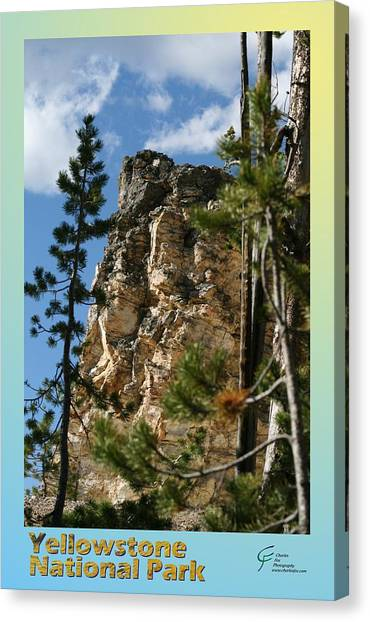 Yellowstone Np 001 Canvas Print by Charles Fox