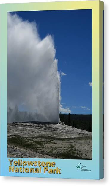 Yellowstone Np 005 Canvas Print by Charles Fox