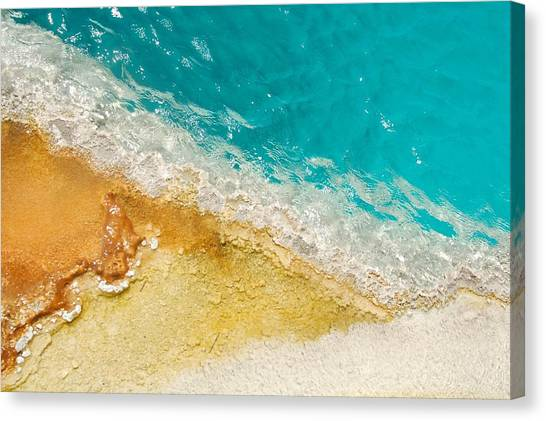 Yellowstone Thermal Pool 1 Canvas Print