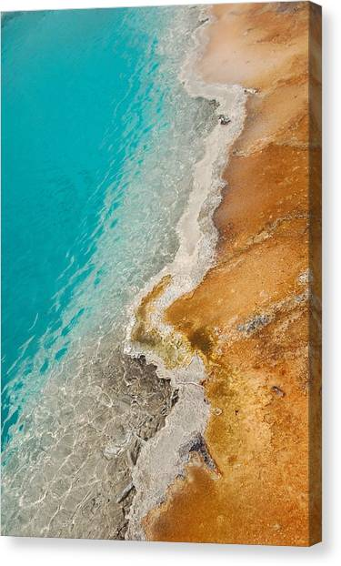 Yellowstone Thermal Pool 2 Canvas Print