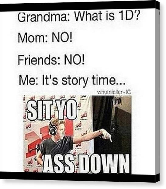 Grandma Canvas Print - Yep This Is My Life. {#grandma by Kendall Traylor