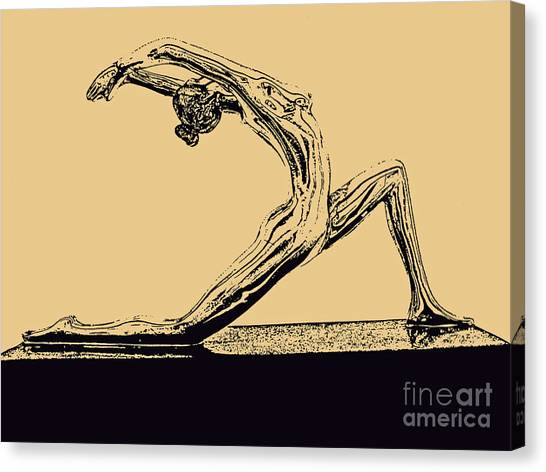 Yoga Number One Canvas Print
