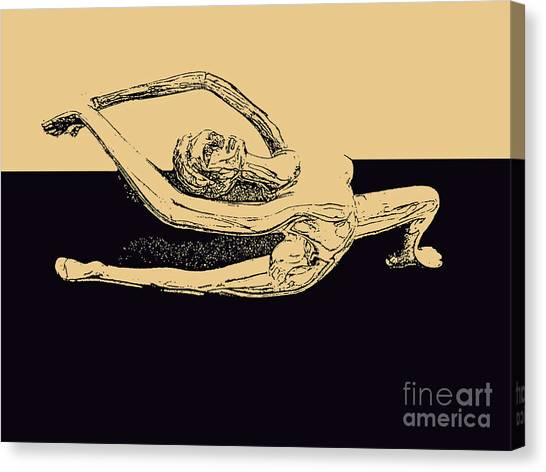 Yoga Number Two Canvas Print