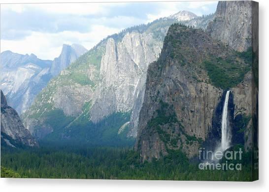 Yosemite Bridalveil Fall Canvas Print