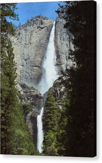 Yosemite Falls 02 Canvas Print
