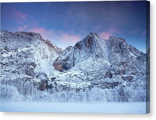 Yosemite Falls Canvas Print - Yosemite Falls by Jesse Estes