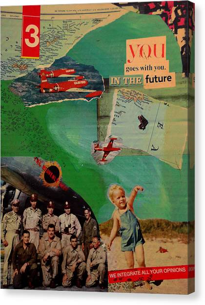 Canvas Print - You Goes With You In The Future by Adam Kissel