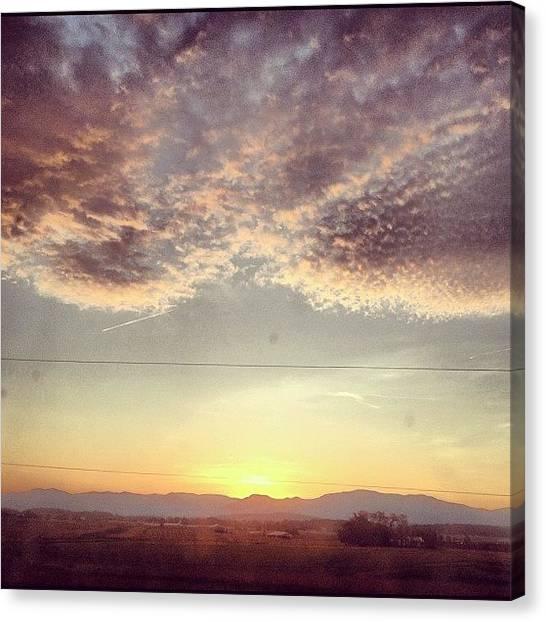 Solar Farms Canvas Print - You'll Come by Sam Harris