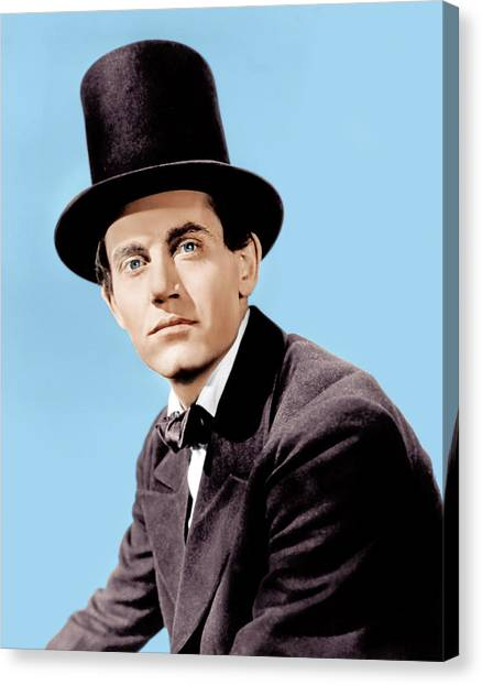 Young Mr. Lincoln, Henry Fonda, 1939 Canvas Print by Everett