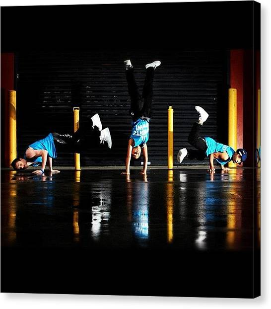 Hip Hop Canvas Print - Young Talent Time Kids Dancers. Just by Luke Fuda