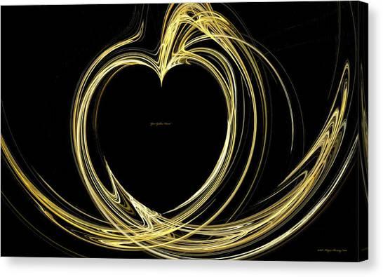 Your Golden Heart Canvas Print by Wayne Bonney