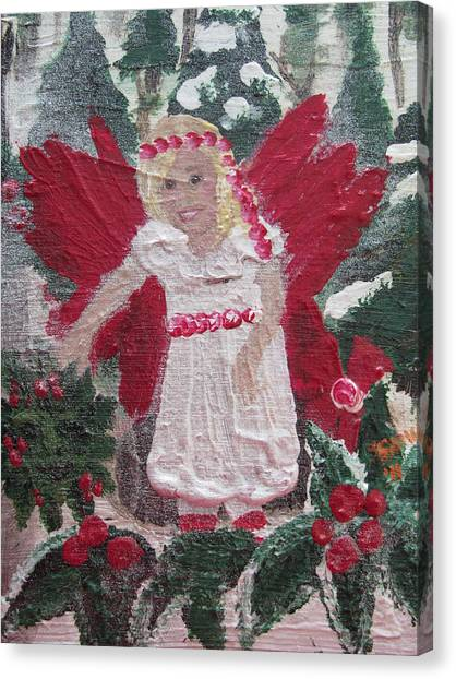 Yule Fairy Canvas Print