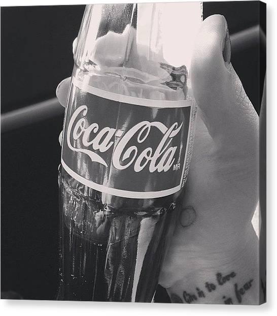 Soda Canvas Print - Yum ^___^ by Jayme Godwin