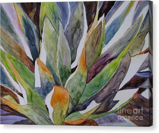Yupo - Agave Canvas Print