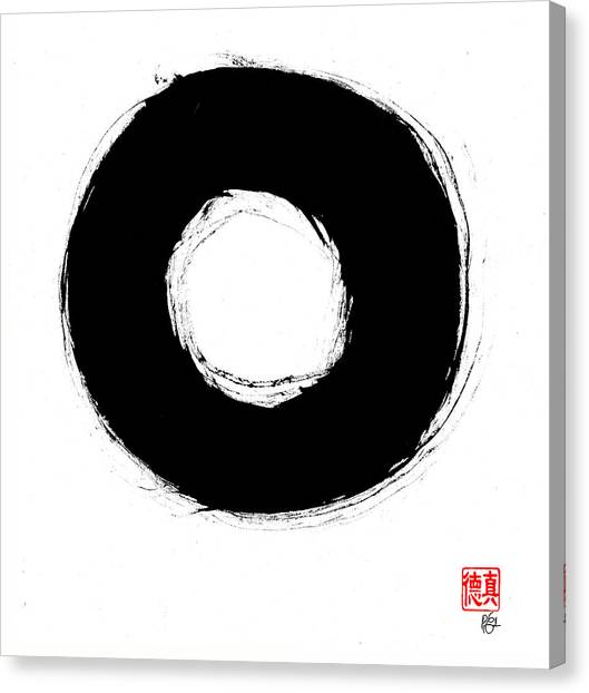 Zen Circle Seven Canvas Print