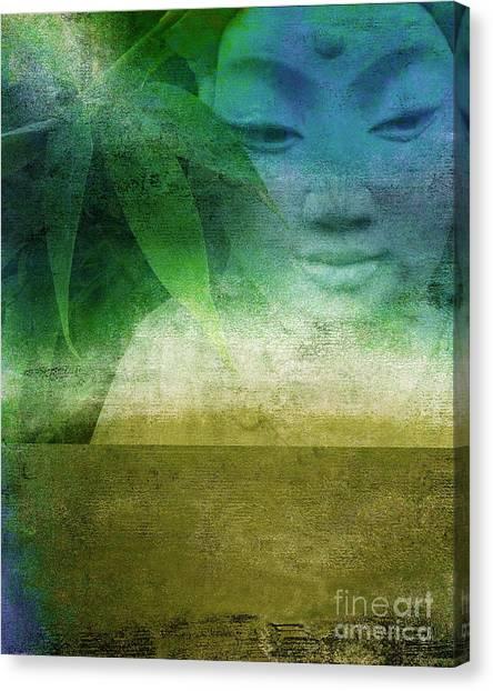 Zen Garaden Canvas Print by Ricki Mountain