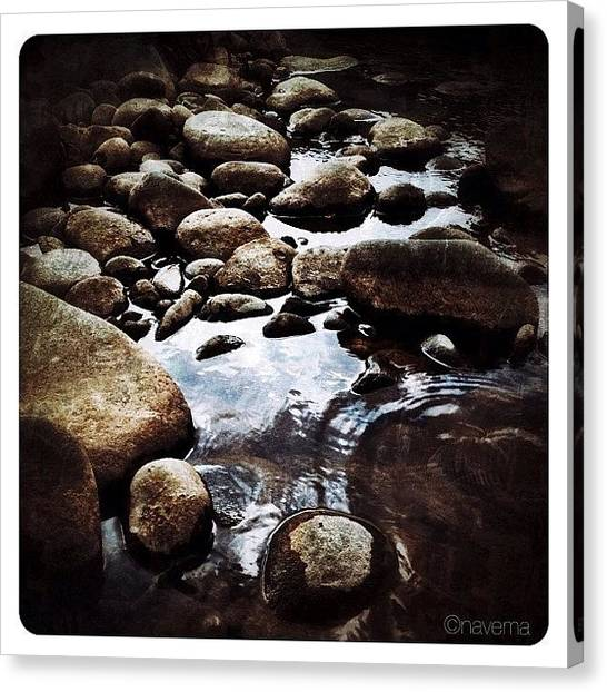 Rock Canvas Print - Zen by Natasha Marco