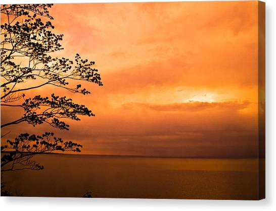 Zen Sunset Canvas Print