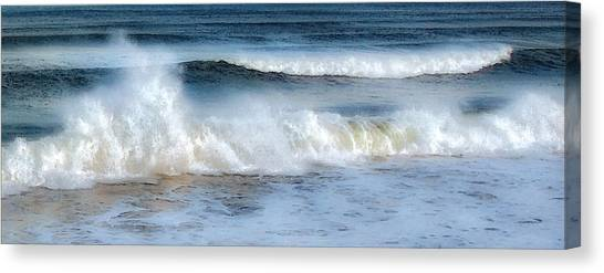 Zen Wave Canvas Print