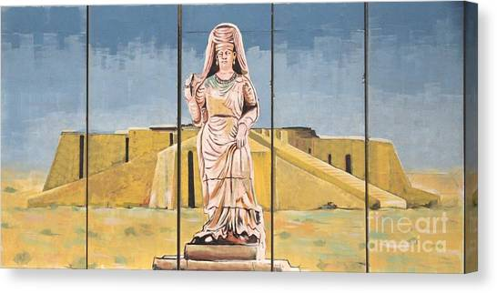 Ziggurat Canvas Print by Unknown - Local National