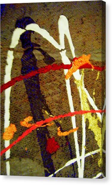 Autumn Joy Canvas Print by Mildred Ann Utroska        Mauk