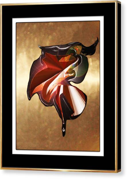 ' Spanish Dancer ' Canvas Print