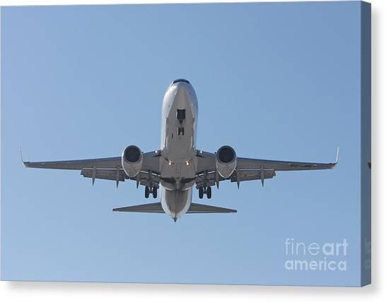 Aireuropa - Boeing 737-85p - Ec-jbl  Canvas Print