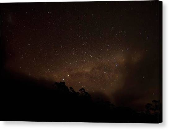 Star Trek Canvas Print - .... And The Night Sky (when Its by Freddie Tay