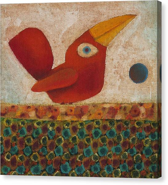 Barba Ruiva - Red Beard Canvas Print by Rogerio Dias