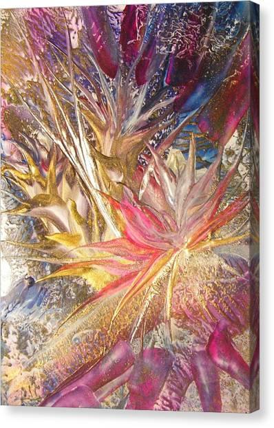 Bllooming Canvas Print by John Vandebrooke