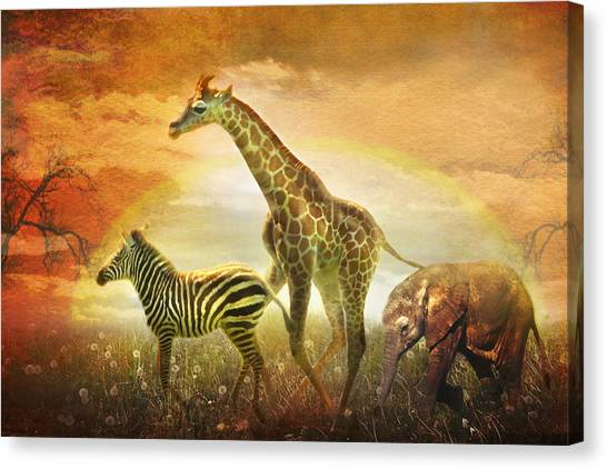 Children Of The Sun Canvas Print