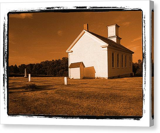 Country Church Canvas Print by Craig Perry-Ollila