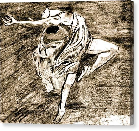 Dancer Canvas Print by Dan Earle