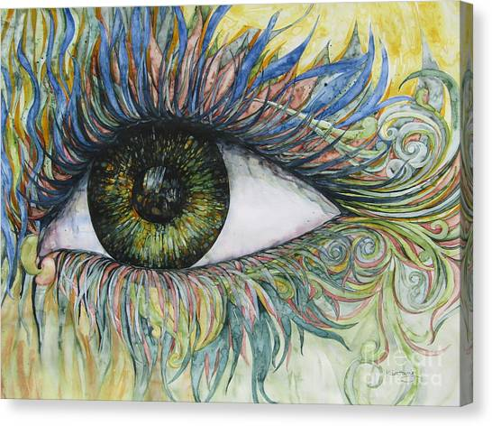Eye For Details Canvas Print