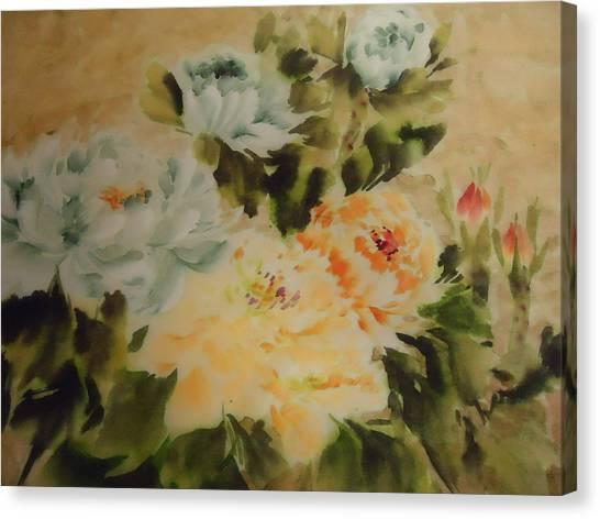 Flower 0727-3 Canvas Print