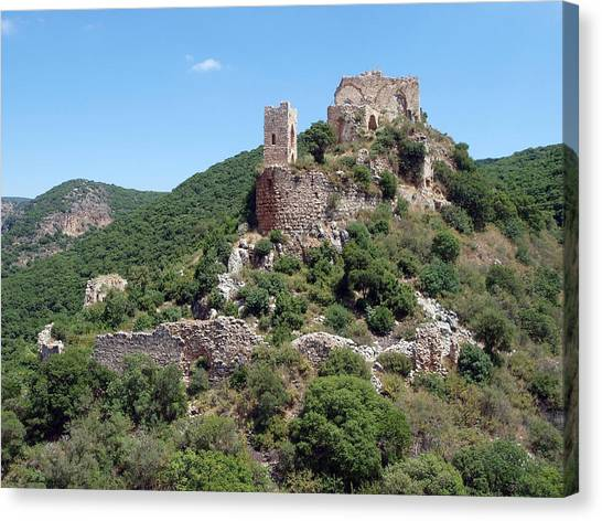 Fortress  Monfort Canvas Print by Arik Baltinester