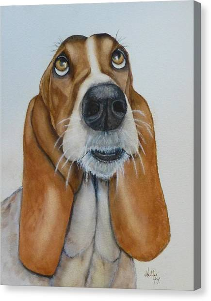 Hound Dog's Pleeease Canvas Print