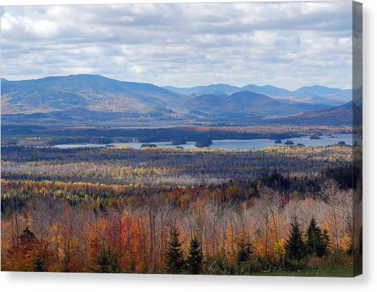 In The Distance Canvas Print by Clay Peters Photography